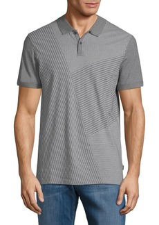 Calvin Klein Stripe Cotton Polo