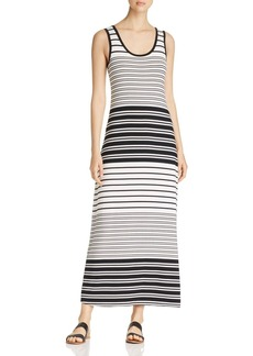 Calvin Klein Stripe Maxi Dress