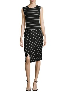 Calvin Klein Stripe Sheath Dress