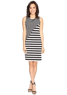 Calvin Klein Striped Combo Dress