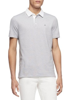 Calvin Klein Striped Cotton Polo
