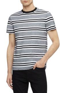Calvin Klein Striped Cotton Tee