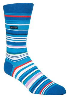 Calvin Klein Striped Crew Socks