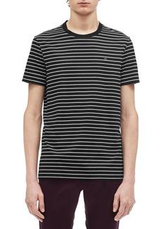 Calvin Klein Striped Crewneck Cotton Tee