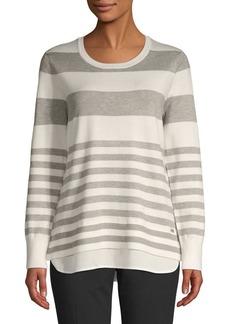 Calvin Klein Striped Crewneck Sweater