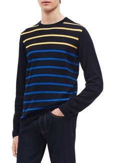Calvin Klein Striped Crewneck Sweater