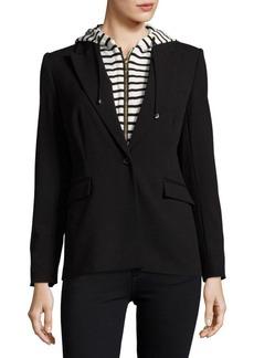 Calvin Klein Striped Hoodie Jacket