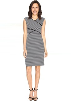 Calvin Klein Striped Panel Dress