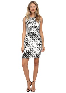 Calvin Klein Striped Sheath