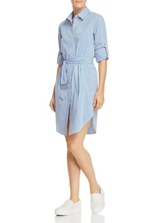 Calvin Klein Striped Shirt Dress - 100% Exclusive