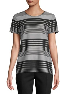 Striped Short-Sleeve Tee
