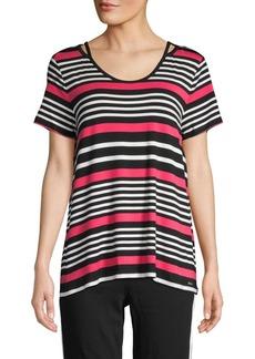 Calvin Klein Striped Short-Sleeve Tee