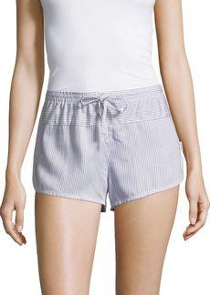 Calvin Klein Striped Sleep Shorts