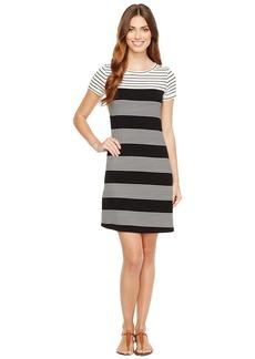 Calvin Klein Striped T-Shirt Dress