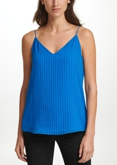 Calvin Klein Striped V-Neck Camisole Top