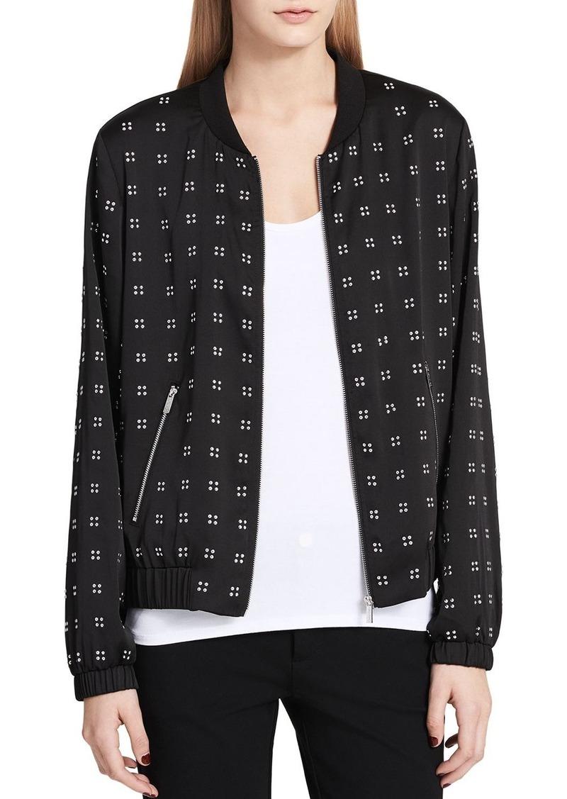 Calvin Klein Studded Bomber Jacket