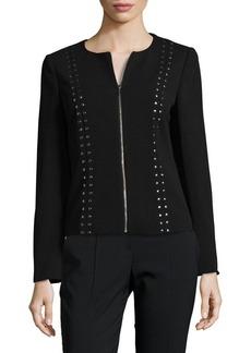 Calvin Klein Studded Crew Jacket