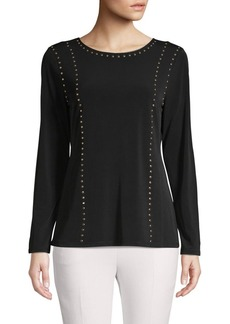 Calvin Klein Studded Stretch Top