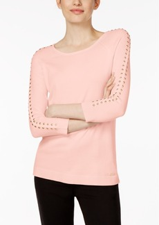 Calvin Klein Studded Sweater