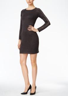Calvin Klein Studded Sweater Sheath Dress