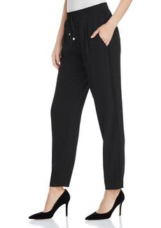 Calvin Klein Suede Side Stripe Drawstring Pants