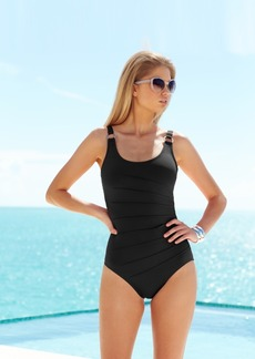 Calvin Klein Starburst One-Piece Swimsuit Women's Swimsuit