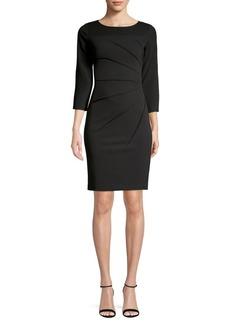 Calvin Klein Sunray-Pleat Sheath Dress