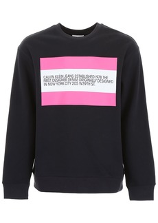 Calvin Klein Sweatshirt With Patch