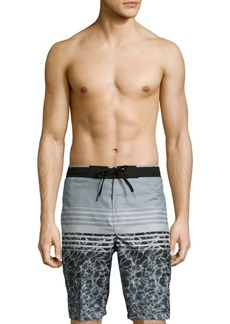 Calvin Klein Swim Printed Drawstring Swim Shorts