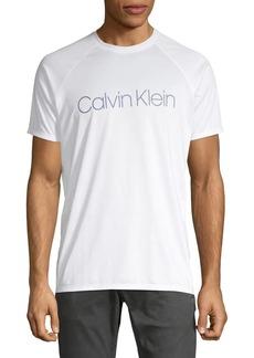 Calvin Klein Swim Solid Rash Guard