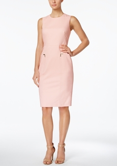 Calvin Klein Tab-Pocket Sheath Dress