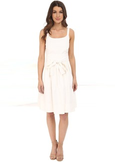 Calvin Klein Tank Dress w/ Bow Belt