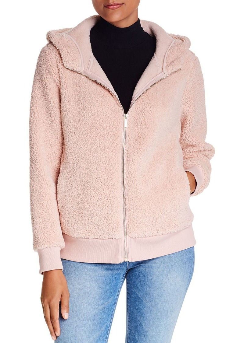 Calvin Klein Teddy Zip Hoodie Jacket