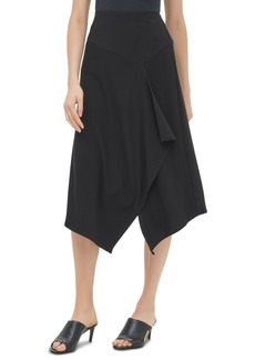 Calvin Klein Textured Asymmetrical Skirt