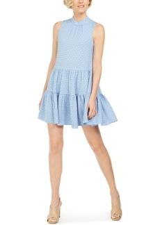 Calvin Klein Textured Babydoll Dress