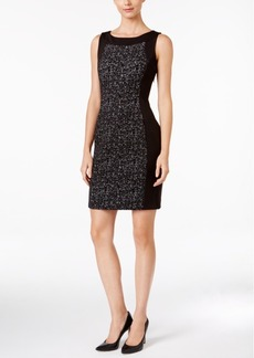 Calvin Klein Textured Knit Sheath Dress