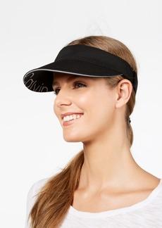 Calvin Klein Textured-Knit Sporty Visor