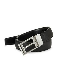 Calvin Klein Textured Leather Belt