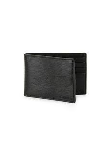 Calvin Klein Textured Leather Bi-Fold Wallet