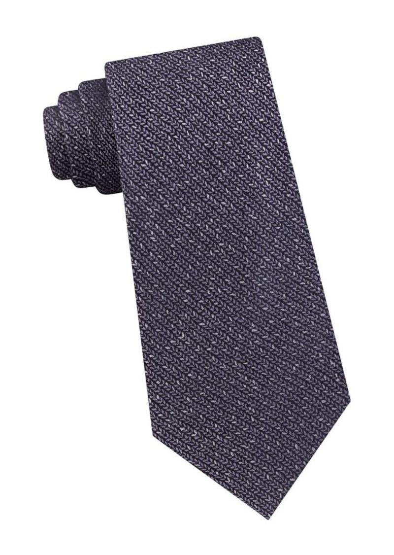 Calvin Klein Textured Silk Tie