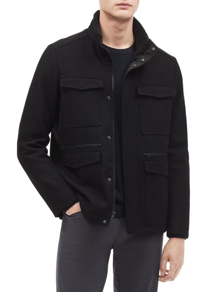 Calvin Klein Textured 4-Pocket Jacket