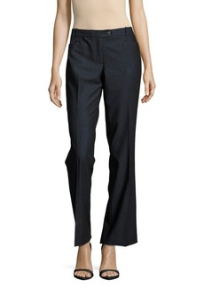 Calvin Klein Textured Wide-Leg Pants