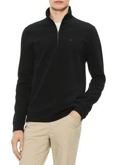 Calvin Klein The Classic Quarter-Zip Sweater