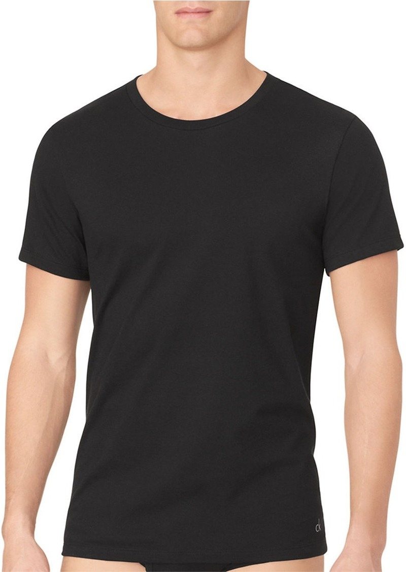 CALVIN KLEIN Two-Pack Cotton Classic Roundneck Tee