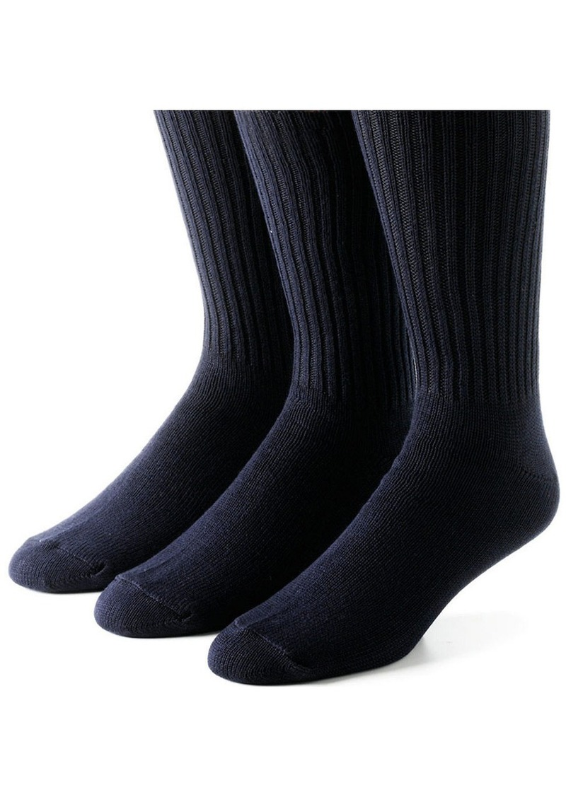 CALVIN KLEIN Three-Pack Socks
