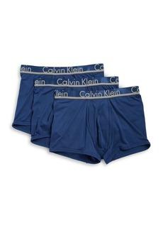 Calvin Klein 3-Pack Ultra-Soft Trunks