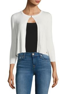 Calvin Klein Three-Quarter Sleeve Cardigan