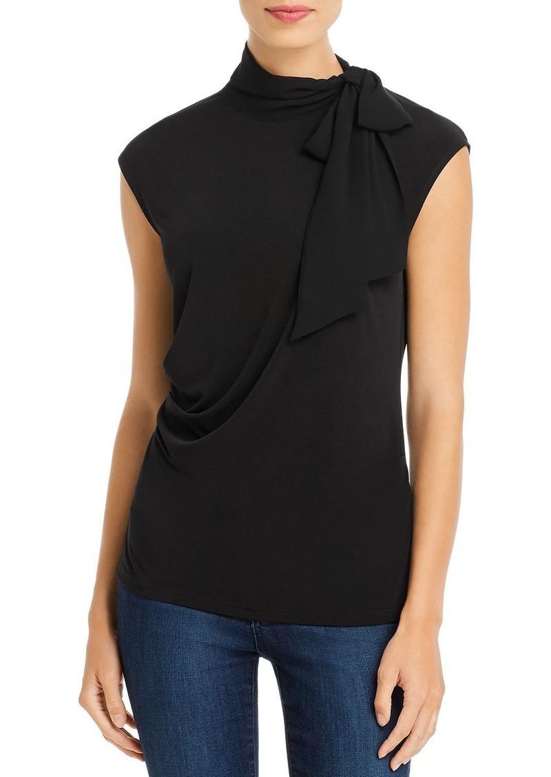 Calvin Klein Tie-Neck Top