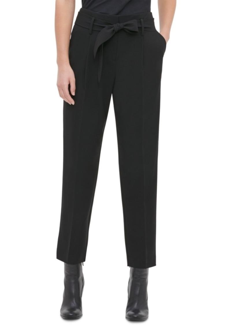 Calvin Klein Tie-Waist Pants