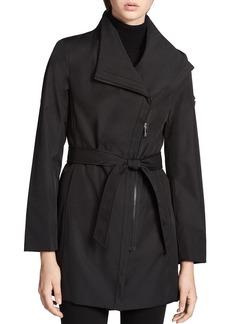 Calvin Klein Tie Waist Trench Coat